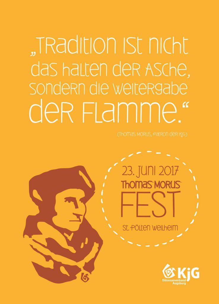 Postkarte Thomas Morus Fest 2017